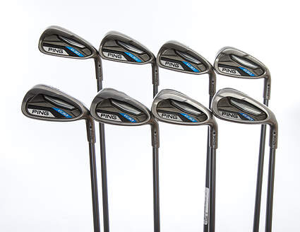 Ping G30 Iron Set 5-PW GW SW Ping TFC 419i Graphite Regular Right Handed Black Dot 38.25in