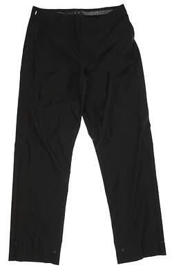 New Womens Zero Restriction Michelle Rain Pants Small S Black 0070 MSRP $210