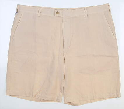 New Mens Peter Millar Seaside Collection Shorts 40 Sand MS17B07 MSRP $87.50