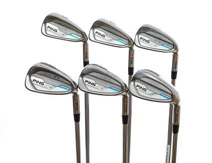 Ping 2015 i Iron Set 5-PW Project X Rifle 5.5 Steel Regular Right Handed Orange Dot 38.0in