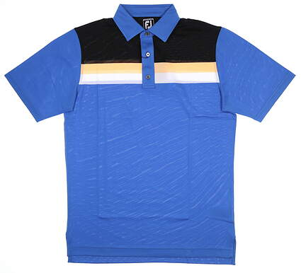 New Mens Footjoy Color Block Polo Medium M Multi 25659