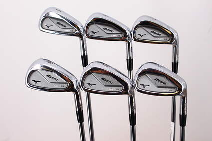 Mizuno MP 53 Iron Set 5-PW Project X Rifle 5.0 Steel Regular Right Handed 37.25in
