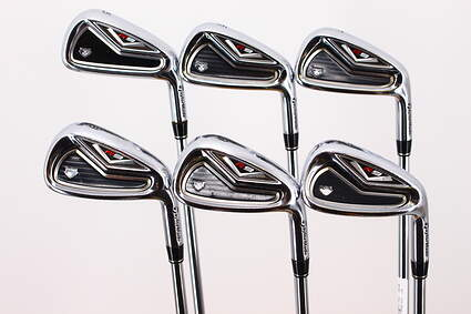 TaylorMade R9 TP Iron Set 5-PW True Temper Dynamic Gold R300 Steel Regular Right Handed 38.0in