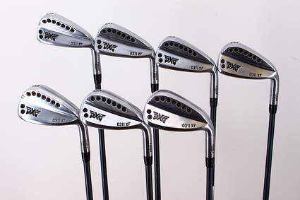 PXG 0311 XF GEN2 Chrome Iron Set 5-PW GW Accra I Series 80 Grams Graphite Stiff Right Handed 39.0in