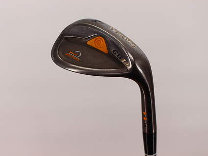Cleveland CG14 Gunmetal Sand SW 56° 14 Deg Bounce Cleveland Traction Wedge Steel Wedge Flex Right Handed 35.5in