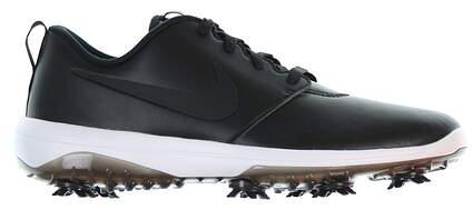 New Mens Golf Shoe Nike Roshe G Tour Size 10.5 Medium Black/White AR5580 001