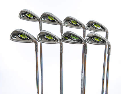 Ping Rapture Iron Set 5-PW GW SW Ping TFC 909I Steel Stiff Right Handed 38.5in Green Dot