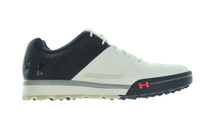 New Mens Golf Shoe Under Armour UA Tempo Hybrid 2 Size 9 Black/White 3000219-100