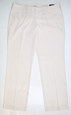 New Womens Nike Golf Pants 16 White 618147 MSRP $85