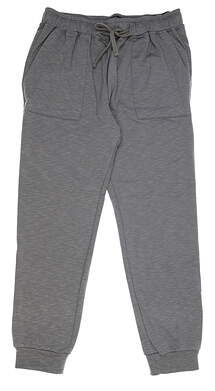 New Mens Straight Down Joggers Large L Gray 50133 MSRP $80