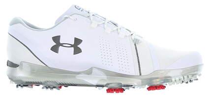New Mens Golf Shoe Under Armour UA Spieth 3 Size 9.5 Medium White/Grey 3021204 102 MSRP $200