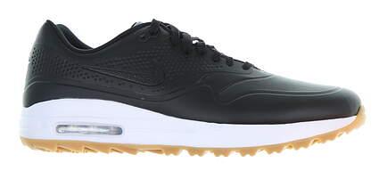New Mens Golf Shoe Nike Air Max 1 G 13 Black AQ0863 001 MSRP $120
