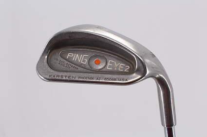 Ping Eye 2 Single Iron Pitching Wedge PW   Ping ZZ Lite Steel Regular Right Handed Orange Dot 35.5in