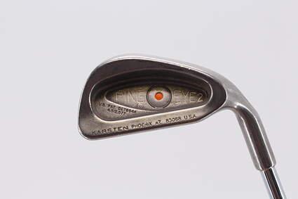 Ping Eye 2 Single Iron 4 Iron   Ping ZZ Lite Steel Regular Right Handed Orange Dot 38.5in