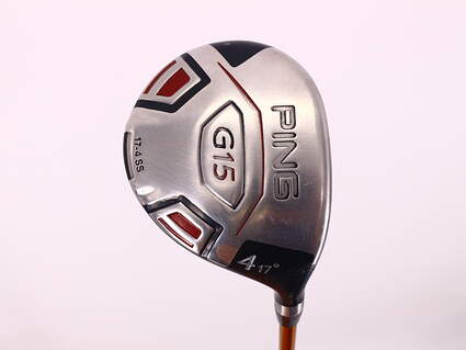 Ping G15 Fairway Wood 4 Wood 4W 17° Aldila NVS 85 Graphite Stiff Right Handed 42.75in