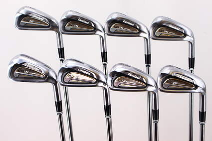 Cleveland CG16 Tour Satin Chrome Iron Set 3-PW True Temper Dynamic Gold S300 Steel Stiff Right Handed 38.0in