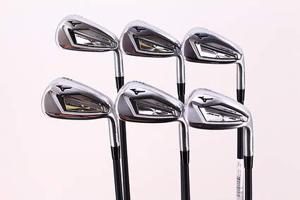 Mint Mizuno JPX 919 Hot Metal Pro Iron Set 5-PW Project X LZ 90g 5.0 Graphite Regular Right Handed 38.25in