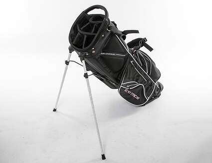 Tour Edge Xtreme 4 Black Stand Bag