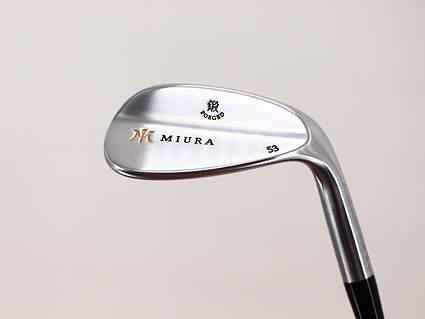 Mint Miura Wedge Series Wedge Gap GW 53° FST KBS Wedge Steel Stiff Right Handed 35.75in