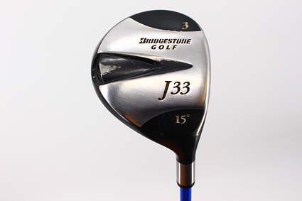 Bridgestone J33 Fairway Wood 3 Wood 3W 15° Adams Grafalloy ProLaunch Blue Graphite Regular Right Handed 43.0in