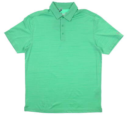 New Mens Under Armour Golf Polo Large L Green UM0495 MSRP $75