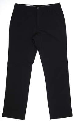 New Mens Under Armour Match Play Pants 34 x32 Black UM8081 MSRP $80