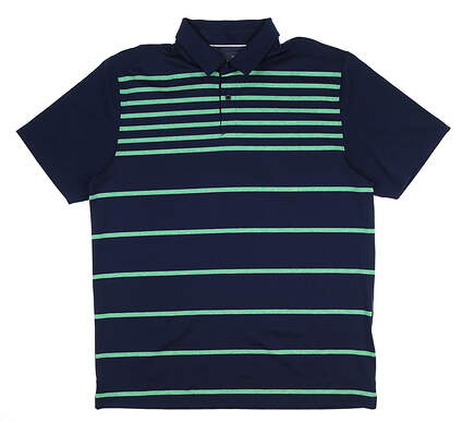 New Mens Under Armour Golf Polo Large L Academy/ Green UM0561 MSRP $75