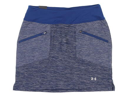 New Womens Under Armour Golf Skort Small S Blue UW6663 MSRP $70