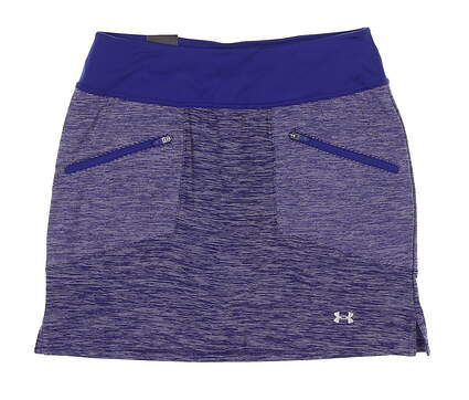 New Womens Under Armour Golf Skort Small S Purple UW6663 MSRP $70