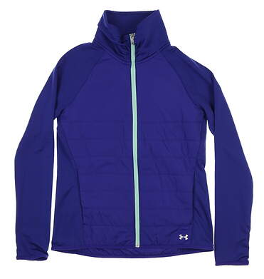 New Womens Under Armour Jacket Small S Purple UW1221 MSRP $90