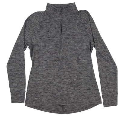 New Mens Under Armour Golf 1/2 Zip Pullover Medium M Gray UW2350 MSRP $70
