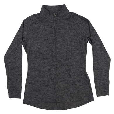 New Womens Under Armour Golf 1/2 Zip Pullover Medium M Gray UW2350 MSRP $70