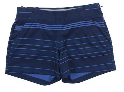 New Womens Under Armour Novelty Shorty Shorts Medium M Blue UW9163 MSRP $70