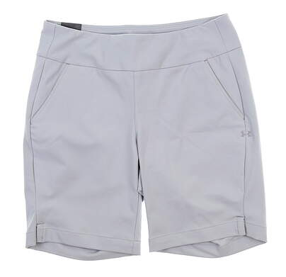 New Womens Under Armour Golf Shorts Medium M Gray UW6679 MSRP $75