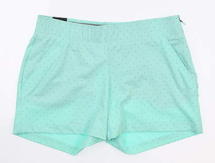 New Womens Under Armour Novelty Shorty Shorts Medium M Mint UW9163 MSRP $70