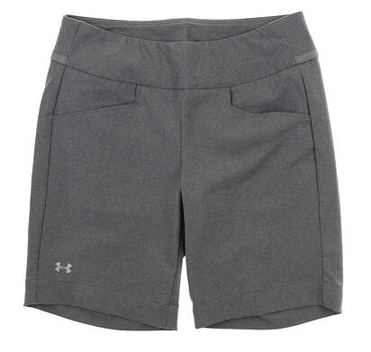 New Womens Under Armour Golf Shorts Medium M Gray UW6670 MSRP $75