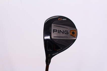 Ping G400 Fairway Wood 5 Wood 5W 17.5° ALTA CB 65 Graphite Stiff Left Handed 42.25in