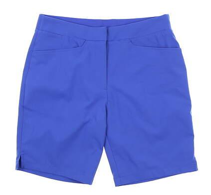 New Womens Puma Pounce Bermuda Shorts Small S Dazzling Blue 577944 07 MSRP $65