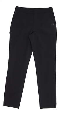 New Womens Puma 7/8 Pants Small S Puma Black 595166 01 MSRP $75