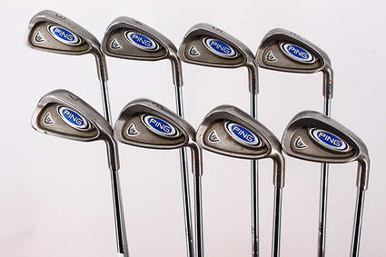 Ping i5 Iron Set 3-PW Ping CS Lite Steel Stiff Right Handed Red dot 37.5in
