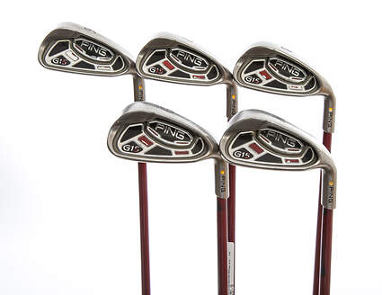Ping G15 Iron Set 6-PW Ping TFC 149I Graphite Regular Right Handed Yellow Dot 38.0in
