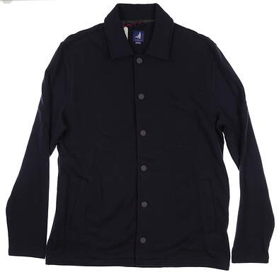 New Mens Johnnie-O Norfolk Classic Fit Terry Jacket X-Large XL Abyss JMJK1250 MSRP $195
