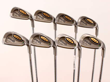 Ping i3 Oversize Iron Set 5-PW GW SW Ping JZ Steel Regular Right Handed Green Dot 38.0in