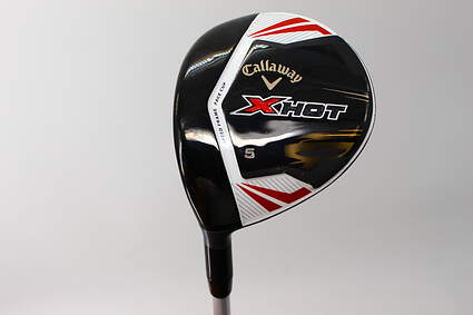 Callaway 2013 X Hot Fairway Wood 5 Wood 5W Project X PXv Graphite Regular Left Handed 43.0in