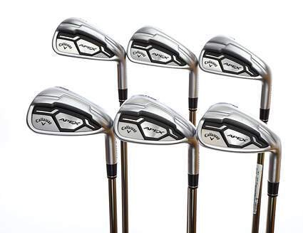 Callaway Apex CF16 Iron Set 5-PW UST Mamiya Recoil 760 ES Graphite Regular Right Handed 37.75in