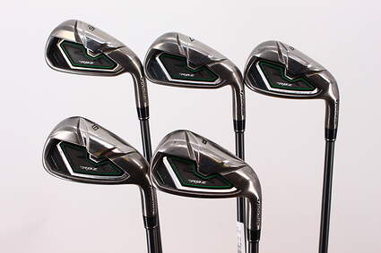 TaylorMade RocketBallz Iron Set 6-PW TM RBZ 65 Graphite Regular Right Handed 37.75in