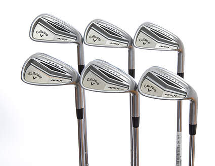 Callaway Apex Pro Iron Set 5-PW FST KBS Tour-V Steel Regular Right Handed 38.75in