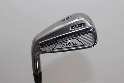 Titleist 712 AP2 Single Iron 4 Iron Dynamic Gold Tour Issue X100 Steel X-Stiff Right Handed 38.75in