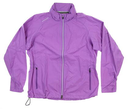 New Womens Sun Mountain Jacket X-Large XL Purple MSRP $150