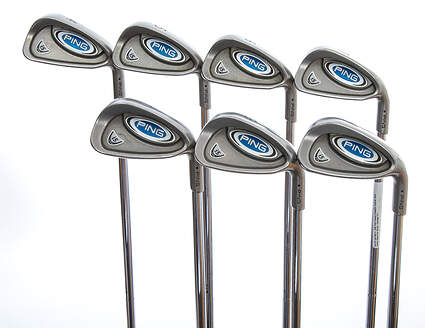 Ping i5 Iron Set 4-GW True Temper Steel Regular Right Handed Black Dot 38.0in